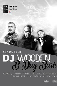 DJ Wooden B-Day Party